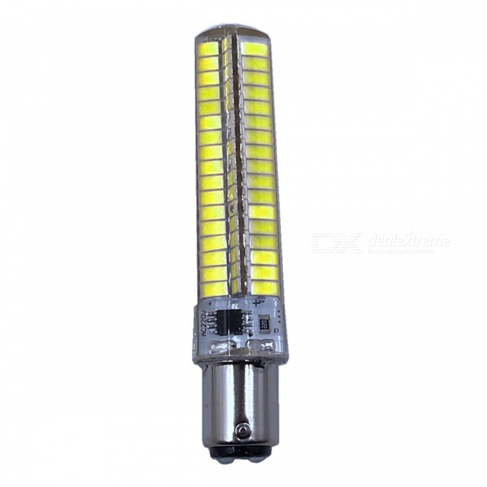 ZHAOYAO BA15D 7W AC 220-240V 5730 SMD 136-LED Dimmable Light Bulb - Cold WhiteOther Connector Bulbs<br>Color BINBA15D-Cold white ModelBA15D-WMaterialPCBForm  ColorWhiteQuantity1 setPower7WRated VoltageAC 220-240 VConnector TypeOthers,BA15DChip BrandOthers,LEDChip Type5730Emitter TypeOthers,5730SMD LEDTotal Emitters136Actual Lumens0-700 lumensColor Temperature6000KDimmableYesBeam Angle360 °Other Features5500-7000KPacking List1 x LED Bulb<br>