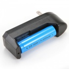 SPO Battery Charger for 14500/18350/18650 Li-ion Battery - Black