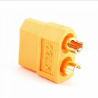 XT60 Female Male Connector for RC Airplane - Yellow (10 Pairs)