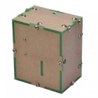 Mini Fully Assembled Useless Machine Box Toy for Kids, Adults - Green