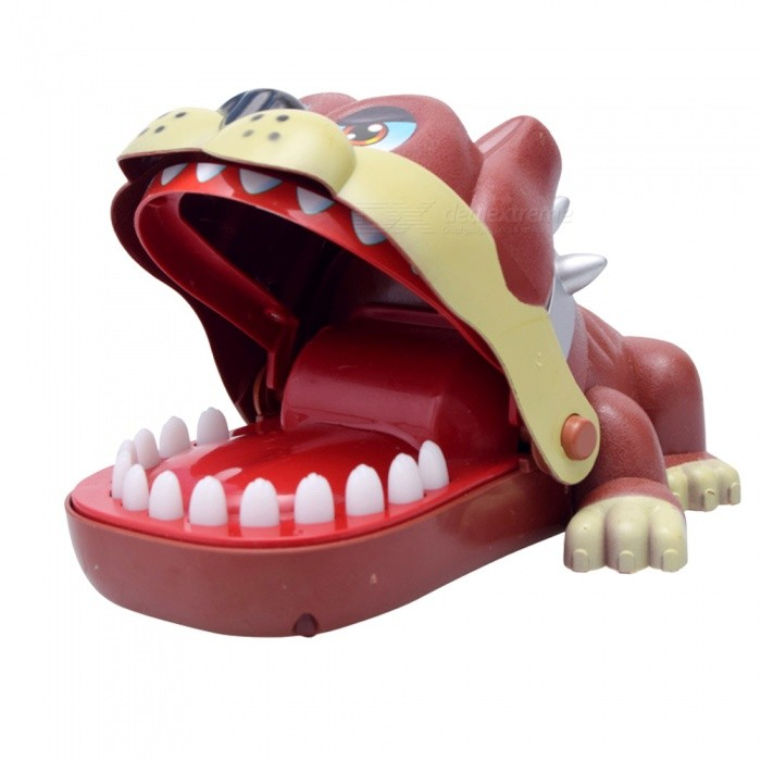 Toys For Biting : Creative funny dog biting the fingers game tricky toy for