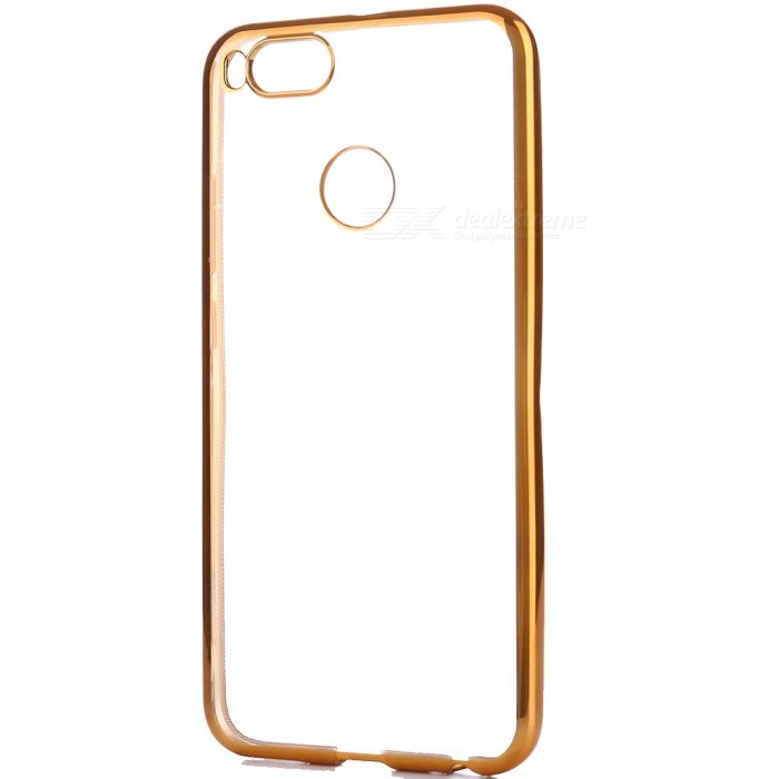 ASLING Electroplating TPU Phone Case for Xiaomi A1TPU Cases<br>Form  ColorGoldenModelASL- Xiaomi A1MaterialTPUQuantity1 pieceShade Of ColorGoldCompatible ModelsXiaomi A1Packing List1 x Protective Case<br>