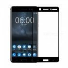 Naxtop Tempered Glass Full Screen Protector for Nokia 6 - Black