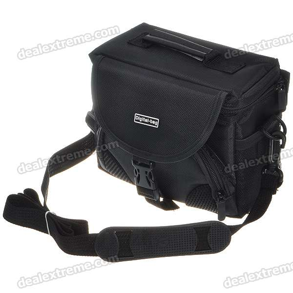 Protective Nylon Carrying Bag for Cameras (Black)