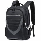 DTBG D8006W 17.3 Inches Laptop Storage Backpack with USB Charging Port College Daypack School Bag for for Men Women - Black