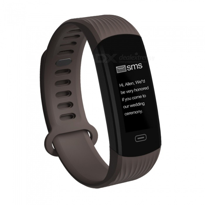 Zeblaze Plug 0.96 OLED Smart Wristband Bracelet w/ Long Battery Life, Quick Recharge, Fitness Tracker - CoffeeSmart Bracelets<br>Form  ColorCoffeeModelPlugQuantity1 setMaterialPCShade Of ColorBrownWater-proofIP67Bluetooth VersionBluetooth V4.0Operating SystemAndroid 4.3,iOSCompatible OSAndroid, iOSBattery Capacity100 mAhBattery TypeLi-polymer batteryStandby Time10 daysPacking List1 x Original Zebalze Plug Smart Bracelet1 x Gift Box 1 x User Manual (English)<br>