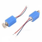 DC 3V 3500RPM 4mm x 8mm Pager Cell Phone Micro Vibration Motor - Blue (12 PCS)