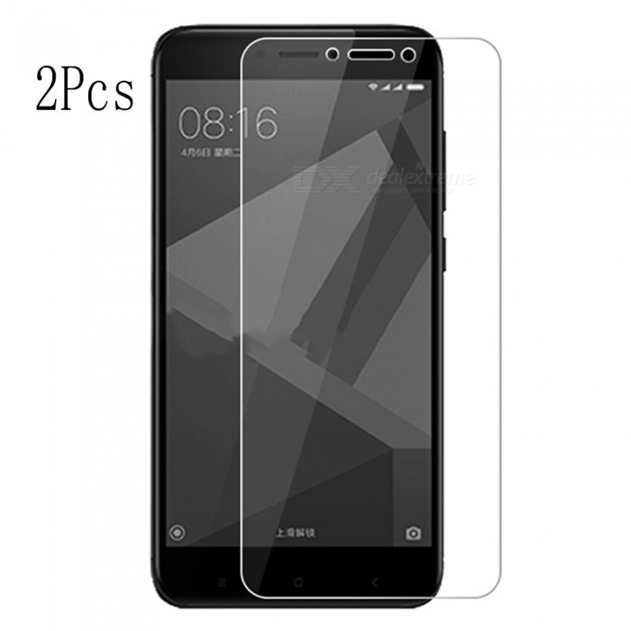 Naxtop Tempered Glass Screen Protector for Xiaomi Redmi Y1 Lite (2 PCS)