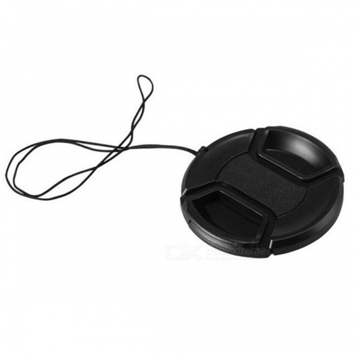 Photography Universal Type 72mm Camera Lens Cap - BlackLenses Accessories<br>Form  ColorBlackModel72mmMaterialABSQuantity1 pieceCompatible BrandUniversal TypeCompatible ModelsUniversal TypeLens Diameter72mmPacking List1 x Lens Cap1 x Rope<br>
