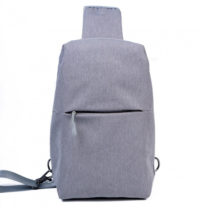 OSOCE B18 Casual Polyester 10L Sport Outdoor Backpack Crossbody Shoulder Bag for Men - GreyForm  ColorGreyBrandOthers,Others,OSOCEModelB18Quantity1 pieceMaterialPolyesterTypeSling &amp; Messenger BagGear Capacity10 LCapacity Range0L~20LFrame TypeExternalNumber of exterior pockets2Raincover includedNoBest UseSwimming,Climbing,Family &amp; car camping,Mountaineering,Travel,Cycling,FishingTypeBackpack AccessoriesPacking List1 x Bag<br>