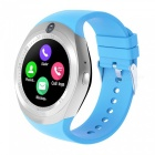 Buy 1.54 inch Round Touch Screen Smart Watch, Supports Pedometer, Sedentary Reminder, 0.3MP Camera, Sim Card - Blue
