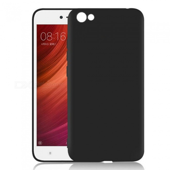 Naxtop TPU Ultra-thin Lightweight Soft Protective Case for Xiaomi Redmi Y1 Lite - BlackTPU Cases<br>Form  ColorBlackModelN/AMaterialTPUQuantity1 pieceShade Of ColorBlackCompatible ModelsXiaomi Redmi Y1 LitePacking List1 x Case<br>