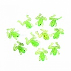 4cm Outdoor Premium Soft Elastic Little Frog Fishing Bait Lure - Green