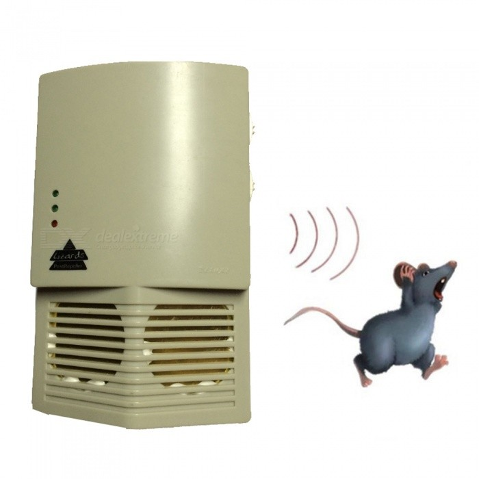 OJADE Portable Ultrasonic Electronic Rat Mouse Repelling Device Repeller for Families Rrestaurant, Hotel, Hospital, OfficeLifestyle Gadgets<br>Form  ColorBeige + Black + Multi-ColoredMaterialABSQuantity1 DX.PCM.Model.AttributeModel.UnitPacking List1 x Mouse repelling device<br>