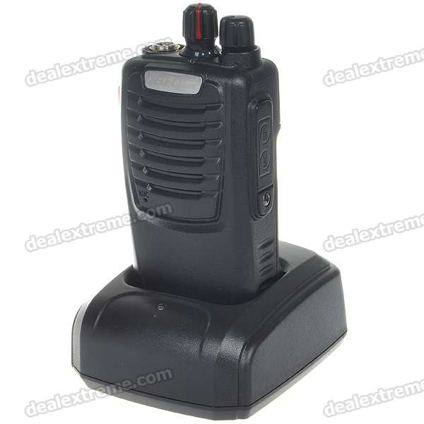 B-728 Rechargeable 5W 400-470MHz 16-Channel Two-way Radio Walkie Talkies with FM m 860 uhf 8 channel 2 way radio twin walkie talkies