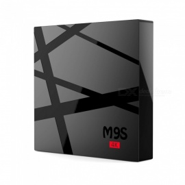 M9S K5 Android Smart TV Box RK3229 Quad-Core 4K Network Player Set Top Box with 2GB RAM 16GB ROM - US Plug