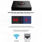 M9S K3 Android Smart TV Box RK3229 Quad-Core 4K Network Player Set Top Box with 2GB RAM 16GB ROM - US Plug
