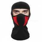 WOSAWE BC336 Multi-functional Dustproof Elastic Neck Head Cover Mask for Sports Riding Cycling - Red