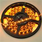 24W 300 LED amarillos de interior Luces Decoración de cuerda con LED Driver (5M-Length/DC 12V)