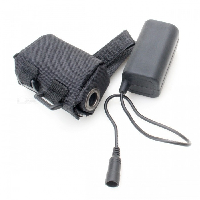 Waterproof Battery Pack Case Empty Cover for MTB Bike Lamp 8.4V 6x 18650 GT