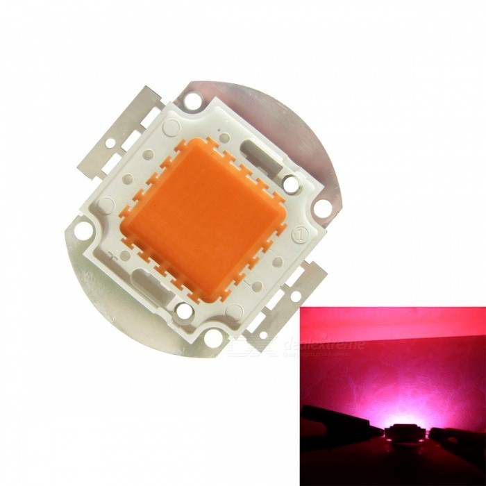 JRLED 100W Full Spectrum Pink LED Beads Plant Light Source (1 PC, DC30-33V)Form  ColorWhite + SilverColor BINPinkModelJRLED-ZWDMaterialCopper + PCQuantity1 piecePower100 WRate VoltageDC30-33VWorking Current3000 mADimmableYesEmitter TypeLEDTotal Emitters100Beam Angle120 °Color Temperature12000K,Others,N/ATheoretical Lumens7000 lumensActual Lumens5000 lumensWavelength610nmConnector TypeOthers,Welding lineCertificationCE ROHSOther FeaturesThis product uses the full spectrum band, can promote seedling rooting, to prevent succulents color, succulent plants growth and extended flowering plants.Packing List1 x 100W LED<br>