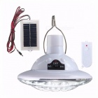 22 LED Solar Light Outdoor Garden Light Solar Powered Yard Hiking Tent Camping Hanging Lamp Remote Control Pure-White