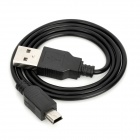 USB to Mini USB Charging Cable (70CM-Length)