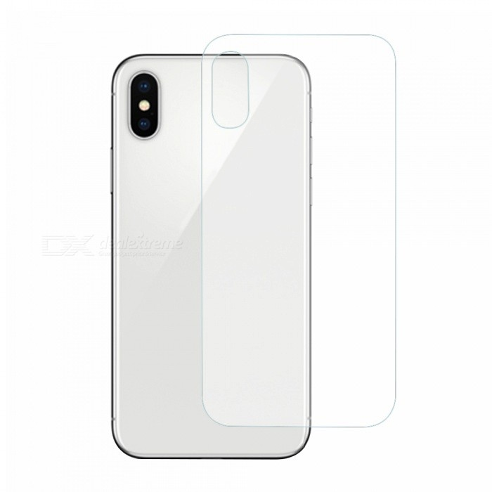 0.3mm 9H 2.5D Back Tempered Glass Screen Protector for IPHONE XScreen Protectors<br>Screen Typecustom10029ModelN/AQuantity1 pieceMaterialTempered GlassForm  ColorTransparentCompatible ModelsiPhone XStyleBack Protector StickerScreen FeaturesScratch Proof,Explosion Proof,Anti GlarePacking List1 x Screen protector1 x Dust Remover1 x Wet Wipes1 x Wipe<br>