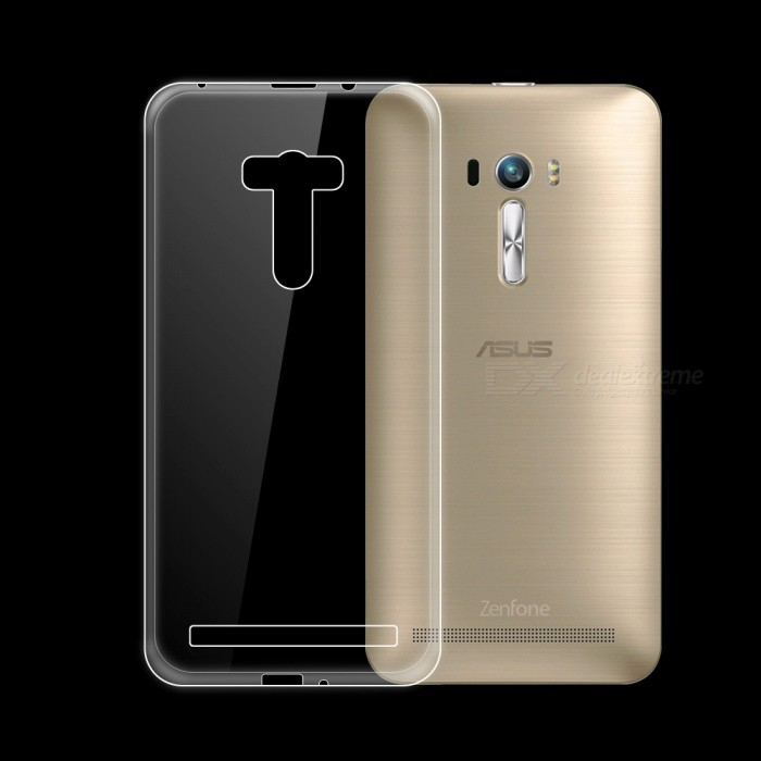 Dayspirit Ultra-Thin Protective TPU Back Case for Asus Zenfone Selfie ZD551KL - Transparent