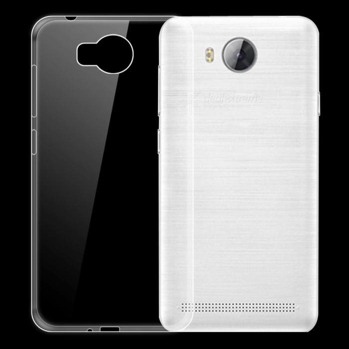 Dayspirit Ultra-Thin Protective TPU Back Case for Huawei Y3II, Y3 2,  Honor Bee 2 - TransparentTPU Cases<br>Form  ColorTransparentModelN/AMaterialTPUQuantity1 pieceShade Of ColorTransparentCompatible ModelsHuawei Y3II , Y3 2 , Honor Bee 2Packing List1 x Case<br>