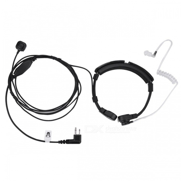 Retractable Neck-Band Type M Head Throat Control Catheter Tube Headset Headphone for Motorola Walkie-Talkie InterphoneWalkie Talkies Supplies<br>Form  ColorBlack + Translucent + Multi-ColoredQuantity1 setMaterialPVCCompatible BrandUniversalCompatible ModelUniversalPacking List1 x M Head Microphone<br>