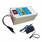 Waterproof 10400mAh 12V Rechargeable Battery with Switch, LCD Display - White