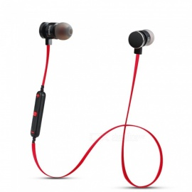 ZHAOYAO Bluetooth V4.2 Wireless In-Ear Sport Earphone Earbuds Headset with Microphone for IPHONE Xiaomi Mobile Phone - Red