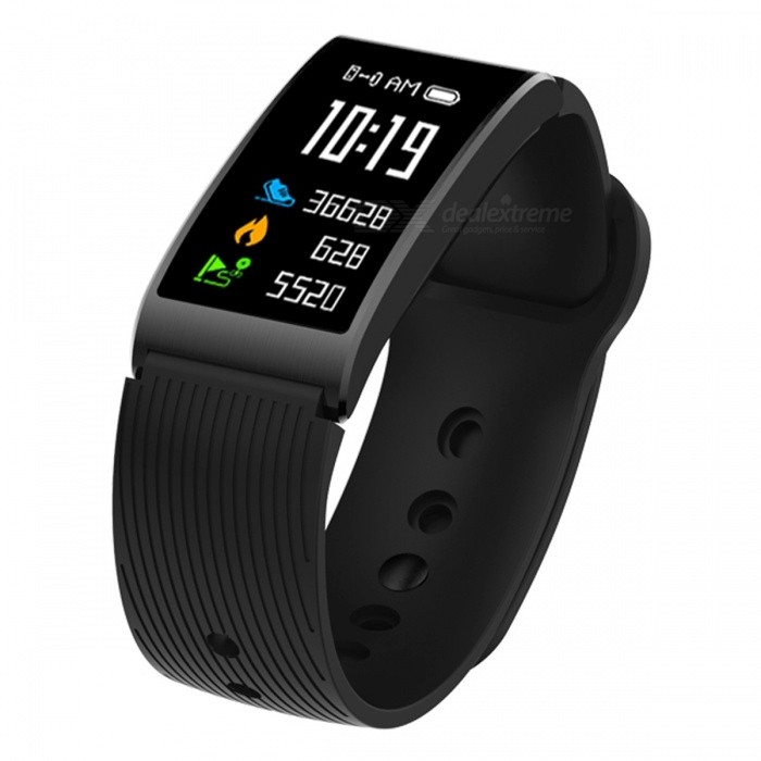 X3 Smart Bracelet IP68 Waterproof Bluetooth Wristband Sports Fitness Tracker with Heart Rate Monitoring, Pedometer - BlackSmart Bracelets<br>Form  ColorBlackQuantity1 DX.PCM.Model.AttributeModel.UnitMaterialABSShade Of ColorBlackWater-proofIP68Bluetooth VersionBluetooth V4.0Touch Screen TypeYesCompatible OSAndroid 4.4 / iOS 8.0 and above systemsBattery Capacity120 DX.PCM.Model.AttributeModel.UnitBattery TypeLi-polymer batteryStandby Time5-7 DX.PCM.Model.AttributeModel.UnitPacking List1 x Smart Bracelet1 x Charging cable1 x User Manual<br>