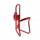 CARKING Aluminum Alloy Bicycle Water Bottle Rack Holder, Mountain Bike Water Cup Can Cage Bracket - Red