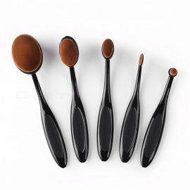 SACE LADY Makeup Brushes Set, Foundation Toothbrush Highlighter Brush Kit, Eyeshadow Eyeliner Powder Cosmetic Make Up Tool  5 Brushes