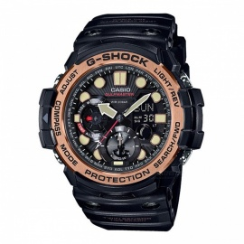Casio G-Shock GN-1000RG-1A 200-meter Water Resistance Master of G Series Sport Digital Compass Watch with Thermometer - Black