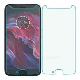Naxtop Tempered Glass Screen Protector for Moto X4 - Transparent