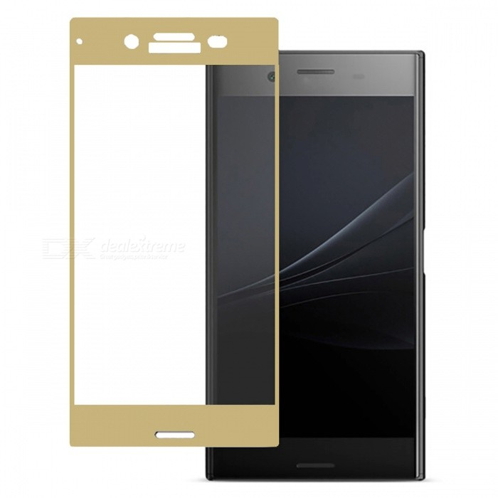 Naxtop Tempered Glass Full Screen Protector for Sony Xperia XZ Premium - GoldenScreen Protectors<br>Form  ColorGoldenScreen TypeGlossyModelN/AMaterialTempered GlassQuantity1 pieceCompatible ModelsSony Xperia XZ PremiumFeatures2.5D,Fingerprint-proof,Scratch-proof,Tempered glassPacking List1 x Tempered glass film1 x Wet wipe1 x Dry wipe1 x Dust absorber<br>
