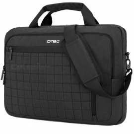 "DTBG 15.6"" Laptop Case Shoulder Bag Briefcase Bag with Removable Shoulder Strap / USB Charging Port - Black"