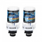 Buy D2C 35W 8000K 3500lm Automobile Car HID Xenon Light Bulb Headlight - Cold White