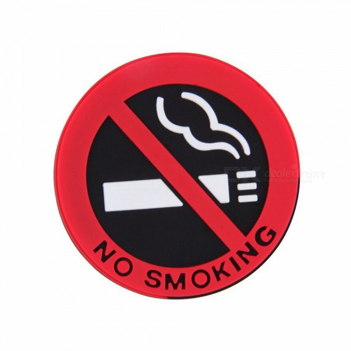 CARKING 5Pcs No Smoking Logo Car Styling StickersOther Interior<br>Form  ColorRed + MulticoloredModelN/AQuantity5 piecesMaterialRubberPacking List5 x Smoking Sign Warning Stickers<br>