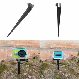 Ismartdigi i466A Outdoor Garden Floor Ground Stand for Gopro Hero 2 3 3+ 4 Session 5 6 SJ4000 - Black