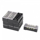 TB1504 Dual Row 4-Position Screw Terminal Electric Barrier Strip Block (10 PCS)