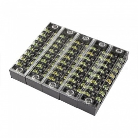 TB1508 Dual Row 8-Position Screw Terminal Electric Barrier Strip Block (5 PCS)