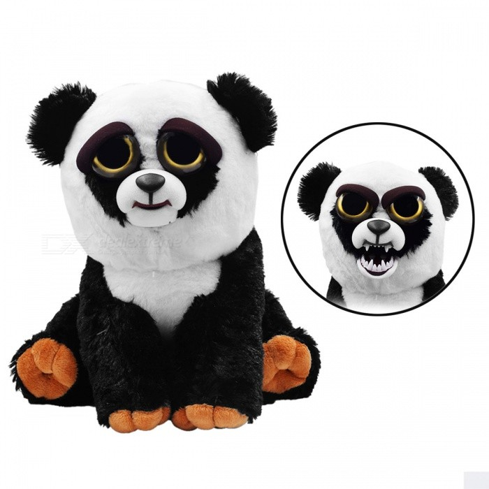Super Cute Cartoon Toy Panda Variable-Face Plush Doll for KidsDolls and Stuffed Toys<br>Form  ColorWhite + BlackMaterialPlushQuantity1 setCharacterPandaSuitable Age 3-6 months,6-9 monthsPacking List1 x Doll<br>