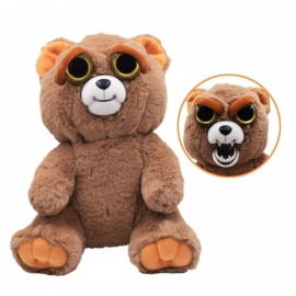 Super Cute Cartoon Toy Bear Variable-Face Plush Doll for Kids