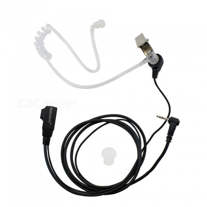 Anti-Noise Single-Hole Unilateral Air Duct Headset Earphone for Motorola Walkie Talkie T5428 / T5628 / T5728 / T6200CWalkie Talkies Supplies<br>Form  ColorBlackModelRadio air duct headsetQuantity1 setMaterialPVCCompatible BrandMotorola Walkie Talkie T6200C T5428 T5308 T5320 T5628 T5728 T5720 T7618Compatible ModelMotorola Walkie Talkie T6200C T5428 T5308 T5320 T5628 T5728 T5720 T7618Packing List1 x Motorola walkie talkie air duct headset<br>