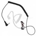 3.5mm Anti-Radiation Unilateral Air Duct Earphone Earbuds for MP3, MP4, Mobile Phone, Walkie Talkie
