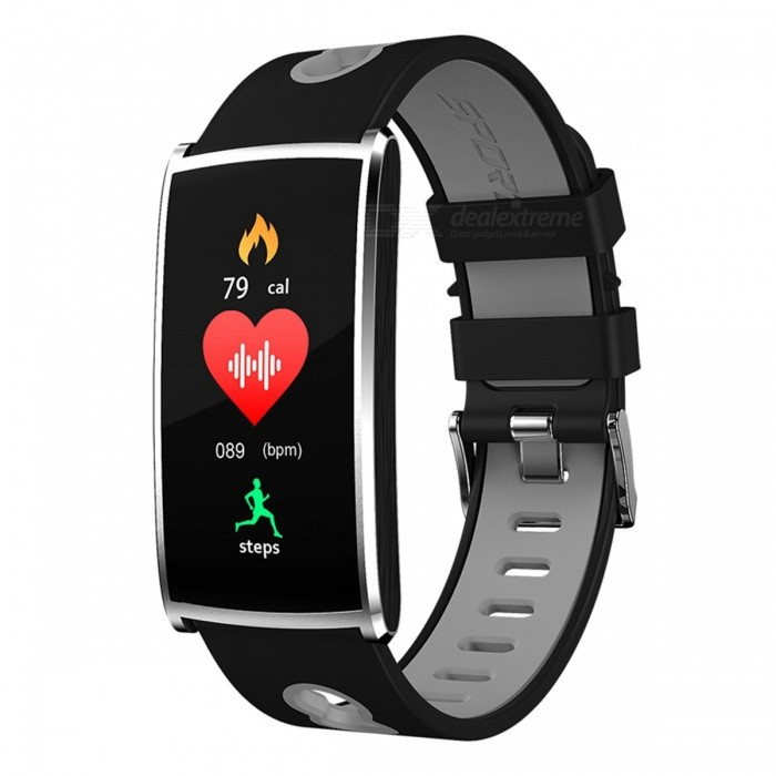 N68 Sports Waterproof Smart Bracelet Wristband with Blood Oxygen Blood Pressure Heart Rate Monitor - Grey + BlackSmart Bracelets<br>Form  ColorSilver + GreyQuantity1 setMaterialABSShade Of ColorSilverWater-proofIP67Bluetooth VersionBluetooth V4.0Touch Screen TypeYesCompatible OSAndroid 4.4 or above, IOS 8.0 or aboveBattery Capacity60 mAhBattery TypeLi-polymer batteryStandby Time5-7 daysPacking List1 x Smart Watch1 x Charging Cable 1 x User Manual<br>